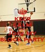 KEEP CALM AND JOIN MY BLOCK PARTY - Personalised Poster A4 size