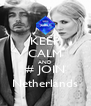 KEEP CALM AND # JOIN Netherlands - Personalised Poster A4 size