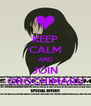 KEEP CALM AND JOIN OROCHIMARU - Personalised Poster A4 size