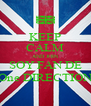 KEEP CALM AND JOIN SOY FAN DE One DIRECTION - Personalised Poster A4 size
