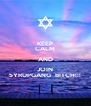 KEEP CALM AND JOIN SYRUPGANG  BITCH!!! - Personalised Poster A4 size