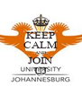 KEEP CALM AND JOIN UJ - Personalised Poster A4 size