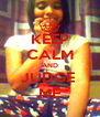 KEEP CALM AND JUDGE  ME - Personalised Poster A4 size