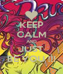 KEEP CALM AND JUST BE YOU !!! - Personalised Poster A4 size