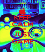 KEEP CALM AND JUST GAME - Personalised Poster A4 size