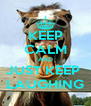 KEEP CALM AND JUST KEEP  LAUGHING - Personalised Poster A4 size
