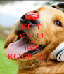 KEEP CALM and just ROCK OUT - Personalised Poster A4 size