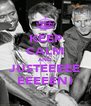 KEEP CALM AND JUSTEEEEE EEEEEN! - Personalised Poster A4 size