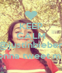 KEEP CALM AND @justinbieber gonna tweet me  - Personalised Poster A4 size