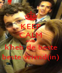 KEEP CALM AND k'heb de beste beste vriend(in) - Personalised Poster A4 size