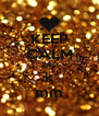 KEEP CALM AND k mm - Personalised Poster A4 size