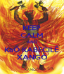 KEEP CALM AND KaÔ KABECILÊ XANGÔ - Personalised Poster A4 size