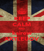 KEEP CALM AND kairow AKTLEUOV - Personalised Poster A4 size