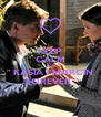 """KEEP CALM AND """" KASIA I MARCIN  FOREVER """" - Personalised Poster A4 size"""