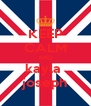 KEEP CALM AND kayla  joseph - Personalised Poster A4 size
