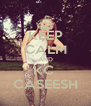 KEEP CALM AND KC  CASEESH - Personalised Poster A4 size