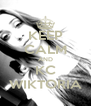 KEEP CALM AND KC WIKTORIA - Personalised Poster A4 size