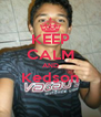 KEEP CALM AND Kedson  - Personalised Poster A4 size