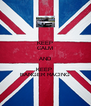 KEEP CALM AND KEEP  BANGER RACING - Personalised Poster A4 size