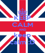 KEEP CALM AND keep calm :D - Personalised Poster A4 size