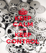KEEP CALM AND KEEP CONTROL - Personalised Poster A4 size