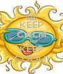 KEEP CALM AND KEEP COOL!! - Personalised Poster A4 size