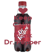 Keep Calm  And Keep Drink Dr. Pepper - Personalised Poster A4 size