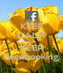 KEEP CALM AND KEEP Facebooking - Personalised Poster A4 size