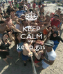 KEEP CALM AND keep gas  - Personalised Poster A4 size