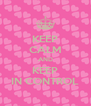 KEEP CALM AND KEEP IN CONTROL - Personalised Poster A4 size