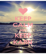 KEEP CALM AND KEEP KARN - Personalised Poster A4 size