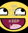 KEEP CALM AND KEEP LOL - Personalised Poster A4 size