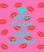 KEEP CALM AND KEEP LOVING - Personalised Poster A4 size