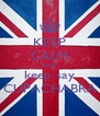 KEEP CALM AND keep say CUPACHABRA - Personalised Poster A4 size