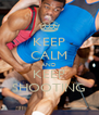 KEEP CALM AND KEEP SHOOTING - Personalised Poster A4 size
