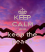 KEEP CALM AND keep the peace - Personalised Poster A4 size