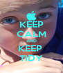 KEEP CALM AND KEEP  TIDY - Personalised Poster A4 size