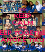 KEEP CALM AND KEEP TOGETHER BANGKE TIKUS - Personalised Poster A4 size