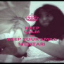 KEEP CALM AND KEEP YOUR SMILE MENTARI - Personalised Poster A4 size