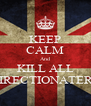 KEEP CALM And KILL ALL DIRECTIONATERS - Personalised Poster A4 size