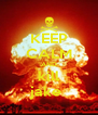 KEEP CALM AND kill jake  - Personalised Poster A4 size