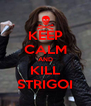 KEEP CALM AND KILL STRIGOI - Personalised Poster A4 size
