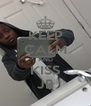 KEEP CALM AND KISS JB - Personalised Poster A4 size