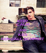 KEEP CALM AND KISS KENDALL SCHMIDT - Personalised Poster A4 size