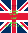KEEP CALM AND KISS  LIAM PAYNE - Personalised Poster A4 size