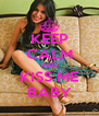 KEEP CALM AND KISS ME BABY - Personalised Poster A4 size