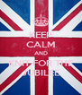 KEEP CALM AND KNIT FOR THE JUBILEE - Personalised Poster A4 size