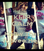 KEEP CALM AND Know That ILovee Her - Personalised Poster A4 size