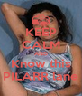KEEP CALM AND Know this PILARR lane - Personalised Poster A4 size