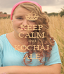 KEEP CALM AND KOCHAJ ALĘ - Personalised Poster A4 size